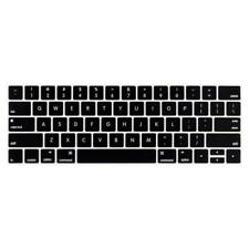 LENTION Silicone Keyboard Cover Skin for MacBook Pro 13/15 w Touch Bar 2019-2016