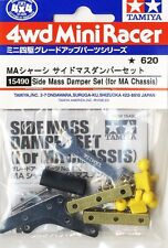 Tamiya 15490 1/32 Mini 4WD Parts Side Mass Damper Set For MA/Super XX Chassis