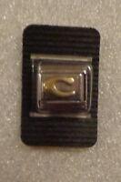ITALIAN MODULAR CHARM BRACELET LINK 9mm STAINLESS STEEL - Alphabet Letter C