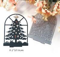 Weihnachtsbaum Metall Die Stencil Cutting Dies Scrapbooking Karte Stanzschablone