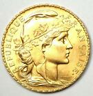 1912 France Republic Gold 20 Francs Rooster Coin G20F - Choice BU (MS UNC)