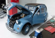 G LGB 1:24 Scale Citroen 2CV Charleston Welly Diecast V Detailed Model blue