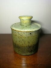 Iden Pottery small Jar With Lid