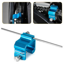Motorcycle Aluminum Chain Sprocket Alignment Tool For Suzuki Harley Bicycle Blue