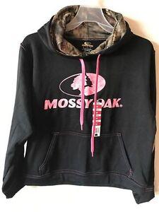 Mossy Oak/RealTree Camo/Logo Men/Women Pullover Fleece Hoodie Sweatshirt S-2XL