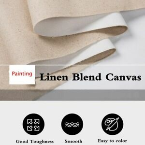 Supplies Art Supplies Acrylic Oil Painting Blank Canvas Pigment Cloth 5M