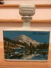 1974 Northwest Wonders Clem Harvey Spirits Mt Rainer Oregon Porcelain Bourbon