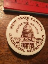 Vintage Paperweight New State Capital Jackson Mississippi Erected 1901-1903
