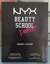 NYX Makeup Set Beauty School Dropout Palette Graduate S 136 New