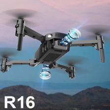 NEW R16 drone 4k HD dual lens mini drone WiFi 1080p real-time transmission FPV d
