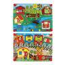 Baby Activity Lock Latches Board Sensory Basic Skill Learning Toy Gift