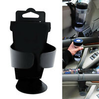 Black Universal Vehicle Car Truck Door Mount Drink Bottle Cup Holder Rack Stand