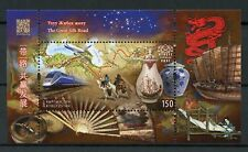 Kyrgyzstan KEP 2017 MNH Great Silk Road 1v M/S Trains Aviation Camels Stamps