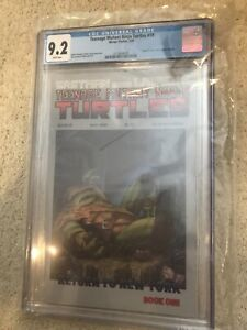 Teenage Mutant Ninja Turtles #19 CGC 9.2 WP Mirage NM-