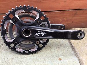 Shimano XT Chainset M770 10 Speed