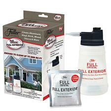 Full Crystal Exterior Cleaner Cleans Aluminum, Vinyl, Brick, Wood, Stucco More