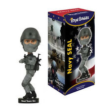 "ROYAL BOBBLES NAVY SEAL TEAM SIX 8"" BOBBLE HEAD FIGURE BRAND NEW IN BOX"