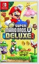 Nuevo Super Mario Bros. U Deluxe (Nintendo Switch) Nueva-región libre