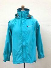 Berghaus Womens Hooded Waterproof AQ2 Jacket Coat Size UK 16 Blue