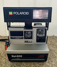 POLAROID Sun 600 LMS Retro Instant Shot Film Camera Great Working Condition