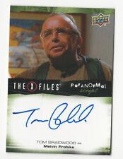 Tom Braidwood The X Files Ufos & Aliens Paranormal Script Autograph Card Auto