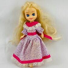 "Vintage My Little Pony Megan Doll 6"" Hasbro Bradley 1985 Dress Flaws"