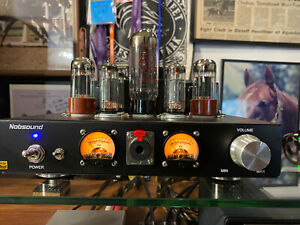 Nobsound 6P1 Vacuum Tube Amplifier Class A Single-Ended  Upgraded Tubes!!  Video