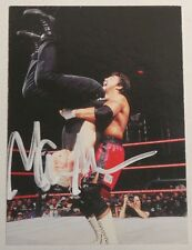 Marc Mero Signed 1998 WWF Comic Images DuoCards Card #30 WWE Wrestling Autograph