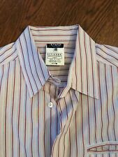 D&G - Dress Shirt - Size 34 / 48 - Dolce & Gabbana Red Pink White Gray - Italy
