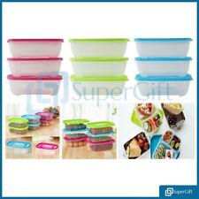 52pc alimentos contenedores Set Con Tapa CONGELADOR MICROONDAS Storag caja de plástico libre de BPA