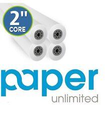 "4 Rolls 36""x150' 20lb Bond HP DesignJet Plotter Paper 2"" core 92 Bright White"