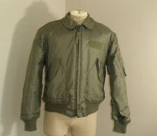 Vintage 90s CWU-45/P US MILITARY FLIGHT Aramid Jacket Large 42-44