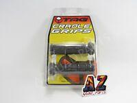 Tag ATV Handlebar Grips Grey Yamaha Raptor 125 250 350 660 700 700R Grizzly