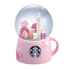 Starbucks 2020 Spring Taipei 101 Sakura Cherry Blossom Snow Globe Free Shipping