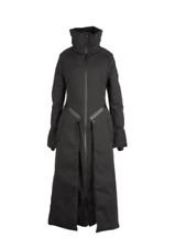 Y-3 by Yohji Yamamoto Women's Matte Down Vest Jacket Coat Convertible Black Sz S
