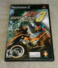 ATV Offroad Fury 3 PlayStation 2 2004 Sony Complete Tested
