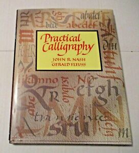 VINTAGE 1992 PRACTICAL CALLIGRAPHY BOOK ~ CRAFTS +