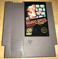 SUPER MARIO BROS. 5-Screw Rare FIRST PRINT NO TM NES Cart TESTED! Nintendo 1985