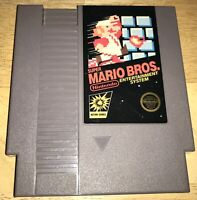 SUPER MARIO BROS. 5-Screw Rare FIRST PRINT NO TM Cart WORKING Nintendo NES, 1985