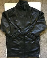 Original Mens Wilsons 'Thinsulate Insulation' Black Leather Jacket Medium