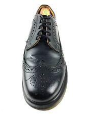 Dr. Martens Black Leather Wingtip Brogue Shoe Size US.8 UK.7  EU.41 Women's US.9
