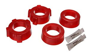 Energy Suspension For VW Beetle Spring Plate Bushing Set Red Rear - 15.2109R