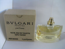 BVLGARI POUR FEMME BY BVLGARI 3.4 oz 100ml  EAU DE TOILETTE SPRAY NOCAP TSTR NEW