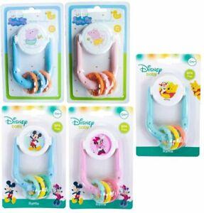 Disney, Peppa Pig Rattle Baby Teethers Teething Toy Gum Soother BPA Free