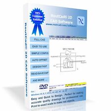 CAD Design Software RoutCad Elec/Mechanical Drawing Floor Plan Sketch (download)