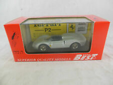 Mejores modelos 9079 Ferrari 330 P2 1964 ALLUMINIO escala 1:43