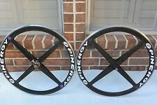 Spinergy Rev X Carbon Fiber  Wheel Set 700c Clincher