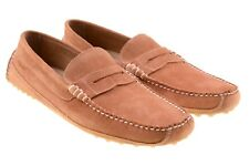NWB Sebago Mens Westfield Classic Rust Suede Leather Rouille Loafers Shoes 10.5