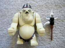 LEGO LOTR Lord Of The Rings - Rare Original - Goblin King w/ Weapon - Excellent