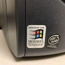 Windows 3.1 Designed For 386 486 Computer Case Badge FLAT Sticker Retro PC
